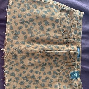 Abercrombie and Fitch cheetah print skirt
